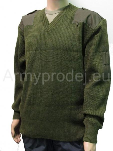 Vojenský vlněný svetr b1c271c562